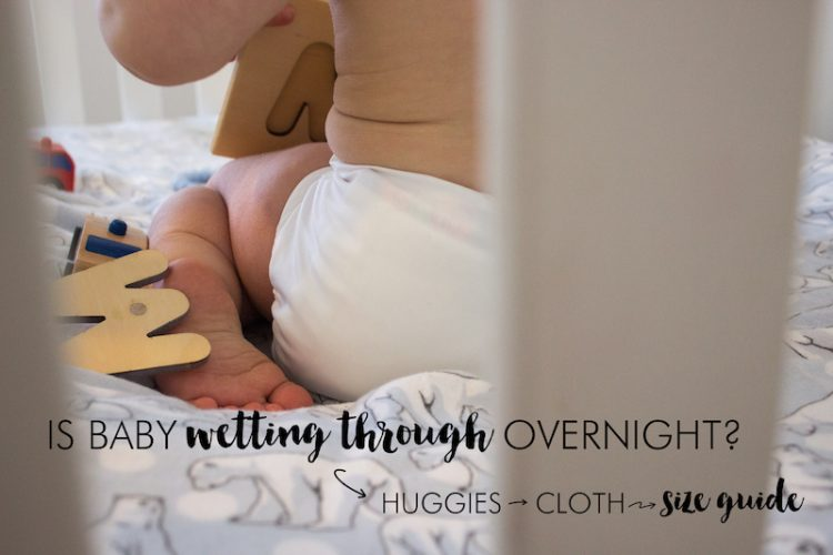 Huggies to Cloth Size Guide