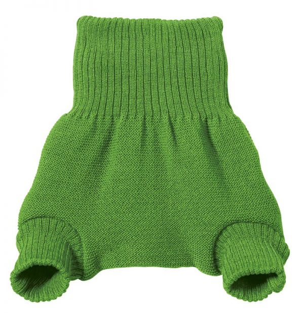 Disana wool nappy cover green