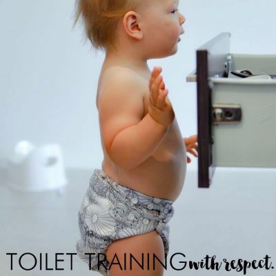 Gentle toilet training to help your toddler learn how to use the loo on their own.